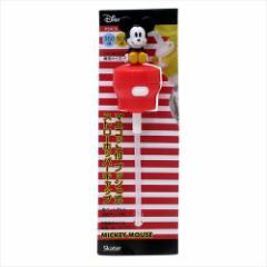 ミッキーマウス ペットボトル用ふたストロー マスコット付きプッシュ式ストローホッパーキャップ ディズニー 350ml 500ml兼用
