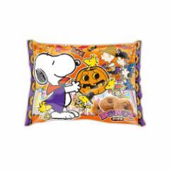 スヌーピー ハロウィンお菓子 ハニードーナッツ大袋 HALLOWEEN ピーナッツ 子供に配る キャラクター グッズ