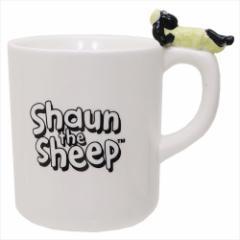 ひつじのショーン マグカップ 陶器製寝そべりMUG かわいい キャラクター グッズ
