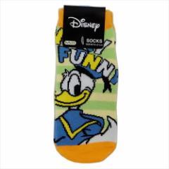 ドナルドダック 子供用靴下 ジュニアソックス おしりフリフリ ディズニー 15×21cm キャラクター グッズ メール便可