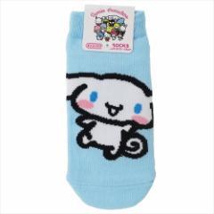 シナモロール 子供用靴下 キッズソックス ポップ サンリオ 13〜18cm キャラクター グッズ メール便可