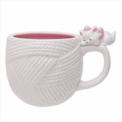 おしゃれキャット マリー マグカップ 陶器MUG けいと ディズニー 300ml キャラクター グッズ