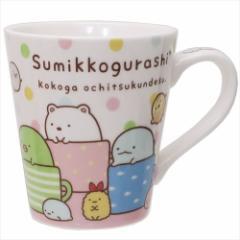 すみっコぐらし マグカップ 陶器製スリムMUG カップイン サンエックス ギフト雑貨 キャラクター グッズ