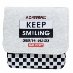 クリップポケット どこでもポッケ SMILING LOGO 13×12cm ギフト雑貨 グッズ メール便可