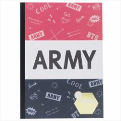 JOIN THE ARMY 横罫ノート B5できる人の学習ノート ENJOY STUDY 勉強 かわいい グッズ メール便可