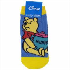 くまのプーさん 子供用靴下 キッズソックス ハニー ディズニー 13〜18cm キャラクター グッズ メール便可