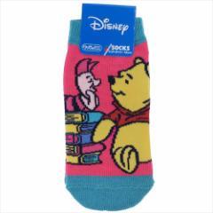 くまのプーさん 子供用靴下 キッズソックス おしゃべり ディズニー 13〜18cm キャラクター グッズ メール便可