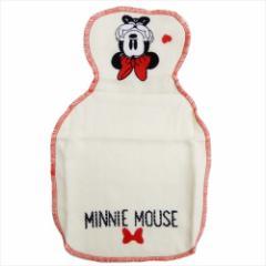 ミニーマウス ベビータオル 背あてタオル Minnieと一緒 ディズニー 20×32cm キャラクター グッズ メール便可