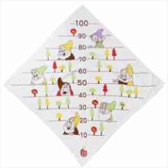 白雪姫 ベビーバスタオル 身長計湯上げタオル ドワーフフォレスト ディズニー 90×90cm キャラクター グッズ