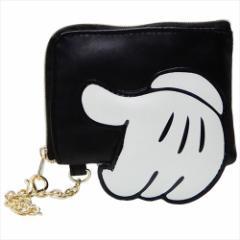 ミッキーマウス 定期入れ ファスナーポケット付き パスケース 2216884 ディズニー ICカードケース キャラクター グッズ