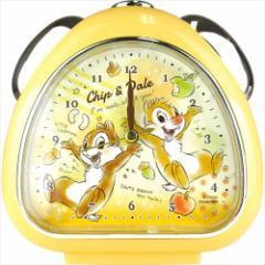 チップ&デール 目覚まし時計 おむすびクロック FUN TIME ディズニー 卓上クロック キャラクター グッズ