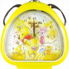 くまのプーさん 目覚まし時計 おむすびクロック FUN TIME ディズニー 卓上クロック キャラクター グッズ