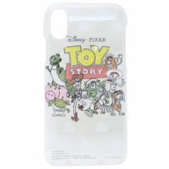 トイストーリー iPhone XS ケース アイフォン XS ハードカバー 集合 ディズニー 5.8インチモデル キャラクター グッズ メール便可
