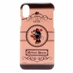 ミニーマウス iPhone XR ケース アイフォン XR ハードカバー ディズニー 6.1インチモデル キャラクター グッズ メール便可