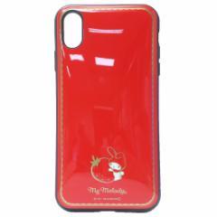 マイメロディ iPhone XS Max ケース アイフォン XS MAX プロテクトカバー イーフィット サンリオ 6.5インチモデル メール便可