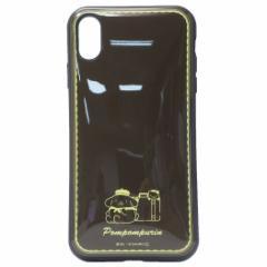 ポムポムプリン iPhone XS Max ケース アイフォン XS MAX プロテクトカバー イーフィット サンリオ 6.5インチモデル メール便可