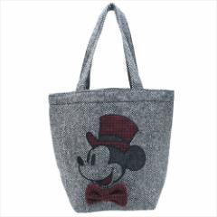 ミッキーマウス 手提げかばん ミニトートバッグ ビッグハット ディズニー ランチバッグ キャラクター グッズ