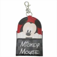 ミッキーマウス キャラ鍵カバー リール式キーケース 2019年新入学 ディズニー ランドセル取り付けベルト付き メール便可