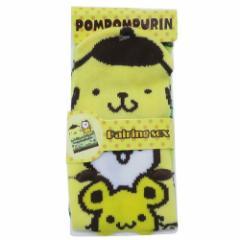 ポムポムプリン 子供用靴下 キッズ耳付きソックス &フレンズ サンリオ 13〜18cm キャラクター グッズ メール便可