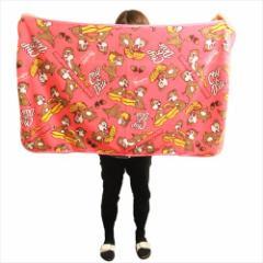 チップ&デール ひざ掛け毛布 マイクロファイバーブランケット ディズニー 70×125cm キャラクター グッズ