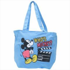 ミッキーマウス トートバッグ 天ファスナー付きセパレートトート ヒップ ディズニー 44×30×17cm キャラクター グッズ