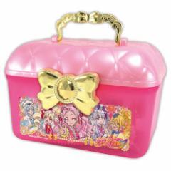HUGっと プリキュア クリスマス お菓子 プラ製 トランクケース in お菓子 詰め合わせ 女の子向け キャラクター グッズ