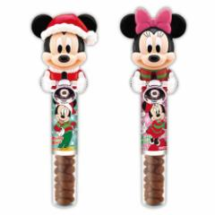 ミッキー&ミニー クリスマス お菓子 リンガーベル in チョコレート ユニバーサル映画 鈴 キャラクター グッズ