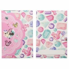 ミニーマウス ぽち袋 お年玉 ポチ袋 2枚セット ストーン付き ディズニー 金封 キャラクター グッズ メール便可