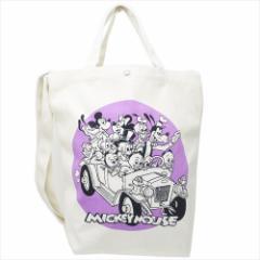 ミッキーマウス トートバッグ 2wayショルダートート フレンズ ドライブ ディズニー 34×35×13cm キャラクター グッズ