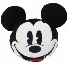 ミッキーマウス 防寒雑貨 ブランケットinクッション フェイス ディズニー 100×70cm キャラクター グッズ