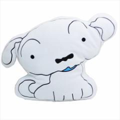 クレヨンしんちゃん 防寒雑貨 ブランケットinクッション シロ 100×70cm アニメキャラクター グッズ