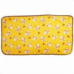 くまのプーさん ひざ掛け毛布 マイクロファイバーブランケット はちみつ ディズニー 70×120cm キャラクター