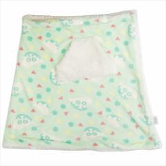 クレヨンしんちゃん ラップ毛布 シープボアスカートブランケット パジャマ柄 150×70cm アニメキャラクター
