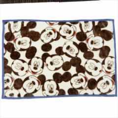 ミッキーマウス ひざ掛け毛布 マイヤーブランケット フェイシーズ ディズニー 70×100cm キャラクター グッズ