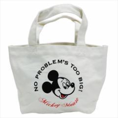 ミッキーマウス ランチバッグ ミニトートバッグ ディズニー お弁当鞄 キャラクター グッズ
