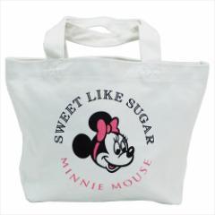 ミニーマウス ランチバッグ ミニトートバッグ ディズニー お弁当鞄 キャラクター グッズ