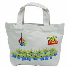 トイストーリー エイリアン ランチバッグ ミニトートバッグ ディズニー お弁当鞄 キャラクター グッズ