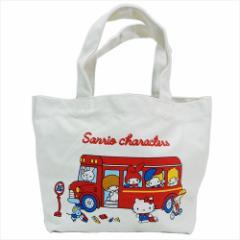 サンリオキャラクターズ ランチバッグ ミニトートバッグ サンリオ お弁当鞄 キャラクター グッズ