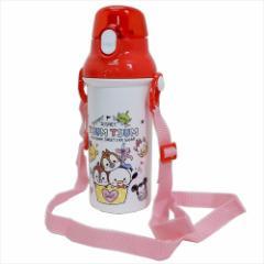 ディズニーツムツム 水筒 直飲みプラワンタッチボトル 2019AW ディズニー 480ml キャラクター グッズ