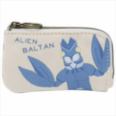 ウルトラマン キーケース 帆布キーポーチ バルタン星人 10×6cm キャラクター グッズ メール便可
