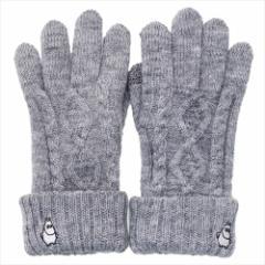 ムーミン 手袋 レディース スマホ対応手袋 ムーミン スタンド 北欧 防寒対策 キャラクター グッズ