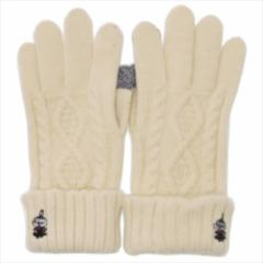 ムーミン 手袋 レディース スマホ対応手袋 リトルミイ スタンド 北欧 防寒対策 キャラクター グッズ