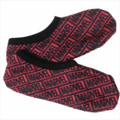 マーベル 女性用防寒靴下 レディース 裏ボア ルームソックス ぎっしり RD 約23〜25cm キャラクター グッ