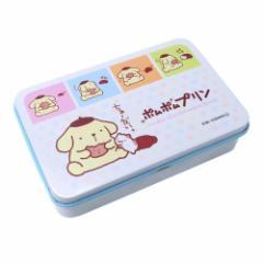 ポムポムプリン お菓子 缶入り キャンディ コミック いちごミルク味 サンリオ サクマ製菓 キャラクター グッズ