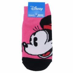 ミニーマウス 子供用 靴下 キッズ ソックス カオカオ ディズニー 13〜19cm キャラクター グッズ メール便可