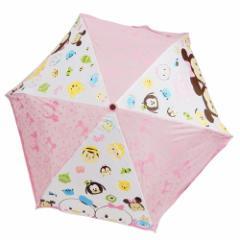 ディズニーツムツム 折畳傘 折りたたみ傘 フェイス ディズニー 53cm キャラクター グッズ