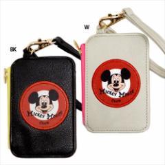 ミッキーマウス 定期入れ ファスナーポケット付きパスケース MICKEY MOUSE CLUB ディズニー ギフト雑貨 キャラクター グッズ メール便可