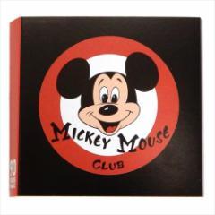 ミッキーマウス 付箋 ブック型ふせん MICKEY MOUSE CLUB ロゴマーク ディズニー 文具 キャラクター グッズ メール便可