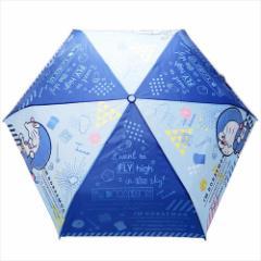 ドラえもん 折畳耐風傘 折りたたみかさ コラージュ サンリオ 約53cm キャラクター グッズ
