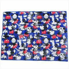 ミッキーマウス ピクニック用品 レジャーシートL ブルー ディズニー 120×90cm キャラクター グッズ